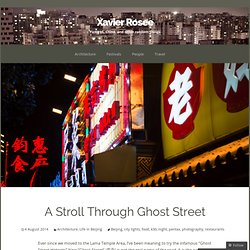 A Stroll Through Ghost Street