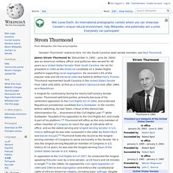 Strom Thurmond