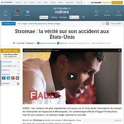 Stromae : la vérité sur son accident aux États-Unis