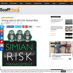 Strong start to 2012 for Simian Risk
