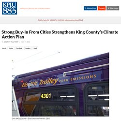 Strong Buy-In From Cities Strengthens King County's Climate Action Plan