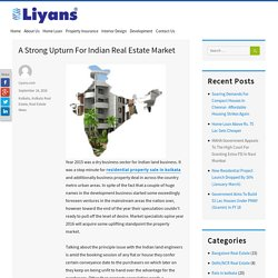 A Strong Upturn For Indian Real Estate Market