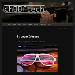 Stronger Glasses | ch00ftech Industries