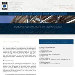 Structural Engineer near the Gold Coast, Sunshine Coast, & Brisbane