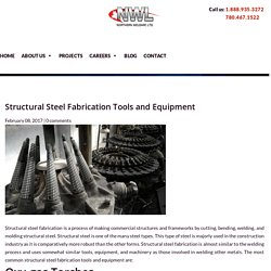 Common Structural Steel Fabrication Tools