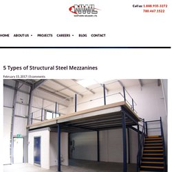 Different Types Of Structural Steel Mezzanines