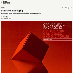 Structural Packaging - Cool Hunting