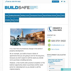 Structural Warranties on Completed units - BuildSafe