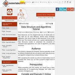 Data Structure and Algorithms (DSA) Tutorial