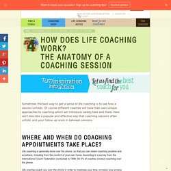 The Structure of Coaching Appointments