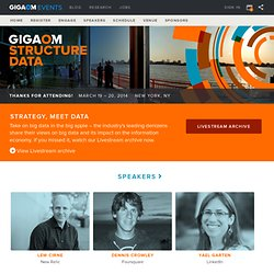 Structure Big Data - GigaOM Network Events