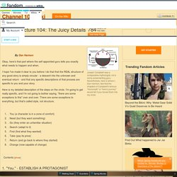 Story Structure 104: The Juicy Details - Channel 101 Wiki