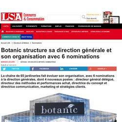 Botanic structure sa direction générale et...