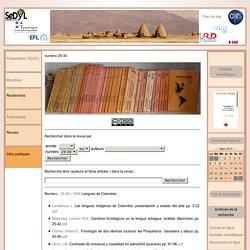 Sedyl - Structure et Dynamique des Langues - UMR8202 - CELIA