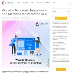 Website Structure : Importance and Methods for Improved SEO