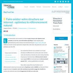 Faire exister votre structure sur internet : optimisez le référencement naturel - Blog Trans-Faire