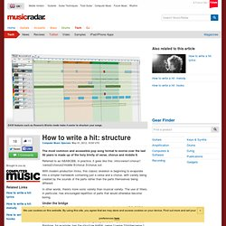How to write a hit: structure