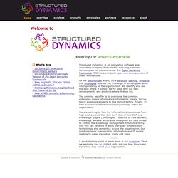 Structured Dynamics