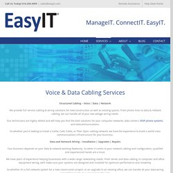 Structured Network Voice And Data Cabling Contractors in Dublin OH