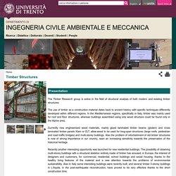Dipartimento di Ingegneria Civile Ambientale e Meccanica