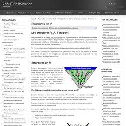 Structures en V