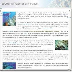 Structures englouties de Yonaguni