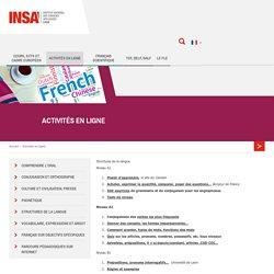 Bienvenue sur le site de FLE de l'INSA !