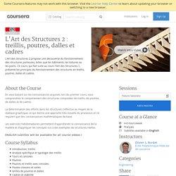 L'Art des Structures 2 : treillis, poutres, dalles et cadres - École Polytechnique Fédérale de Lausanne