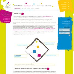 Union Régionale des Structures d'Insertion par l'Economique d'Alsace - Présentation