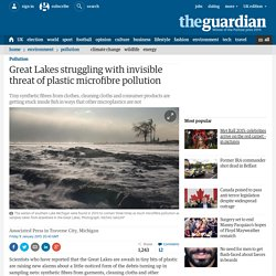 Great Lakes struggling with invisible threat of plastic microfibre pollution