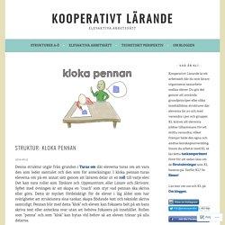 Struktur: Kloka pennan – Kooperativt Lärande