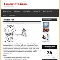 Struktur: Visa! – Kooperativt Lärande