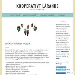 Struktur: Två löser problem – Kooperativt Lärande