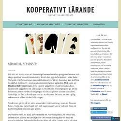 Struktur: Sekvenser – Kooperativt Lärande