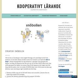 Struktur: Snöbollen – Kooperativt Lärande