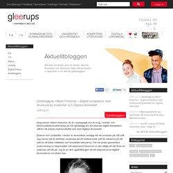 Gästblogg av Håkan Fleischer – Digital kompetens med strukturerad kreativitet och digitala läromedel 2015-02-27