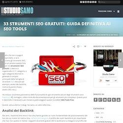 33 strumenti SEO gratuiti: guida definitiva ai SEO Tools | Studio Samo