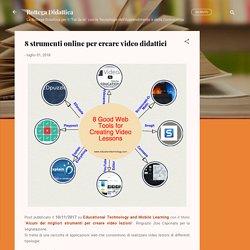 8 strumenti online per creare video didattici