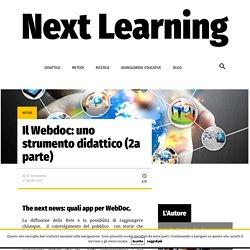 Il Webdoc: uno strumento didattico (2a parte)