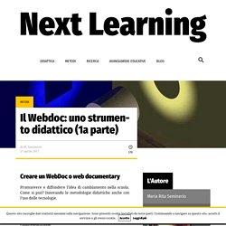 Il Webdoc: uno strumento didattico (1a parte)