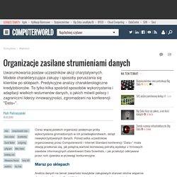 Organizacje zasilane strumieniami danych