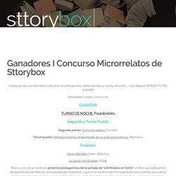 Ganadores I Concurso Microrrelatos de Sttorybox