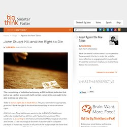John Stuart Mill and the Right to Die