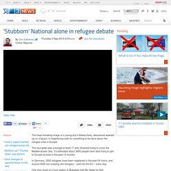'Stubborn' National alone in refugee debate