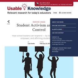 Student Activism and Gun Control
