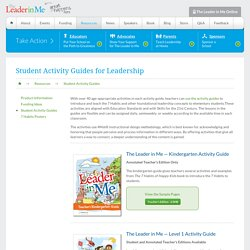 Student Activity Guides for Leadership - The Leader In Me