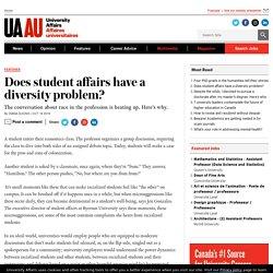 Does student affairs have a diversity problem?