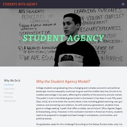 Student Agency Model — Students With Agency