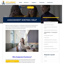 Best Student Assignment Help Services in Canada