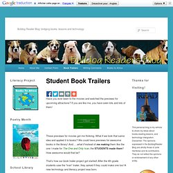 Student Book Trailers